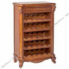Карпентер 230-1 шкаф винный орех светлый тон
