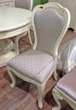 Белый Цветок стул 528