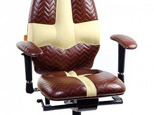 GALAXY кресло рабочее коричнево-песочное (перфорированное)