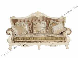 Милано (Фиора) диван 3 местный 8802-А (ткань кофейный)