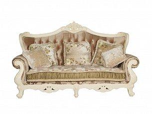 Милано диван 3 местный ткань кофейная арт. MK-1826-IV