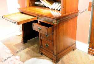 Кембридж стол письменный 856 орех