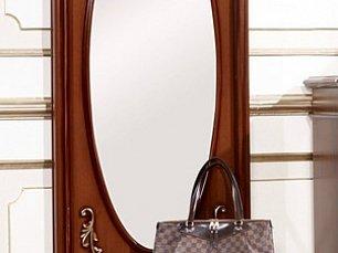 Афина орех зеркало напольное с ящиком