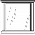 Жиневра зеркало к комоду (бежевый)