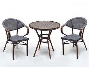 Комплект мебели  2+1 А1007-D2003S-2pcs иск. ротанг