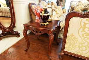 Луи 15 (Louis XV) стол кофейный 630B орех