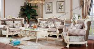 Милано мягкая мебель 3+1+1 (ткань кофейная)