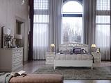 Аврора кровать 160х210 низкое изножье (белая)