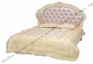 Белый Цветок кровать 180х200 8801-С МТ 8816