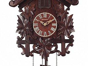 """Настенные часы с кукушкой """"Кленовый лист"""" СQ-044"""
