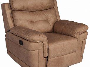 """Мик кресло реклайнер MK-4702-BGF ткань """"под кожу"""""""
