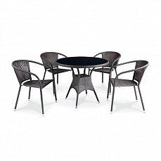 Комплект мебели 4+1 T197AS/ Y137C-W51  иск. ротанг