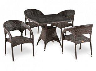 Комплект мебели 4+1 Т220BT/ Y90С-W51 иск. ротанг