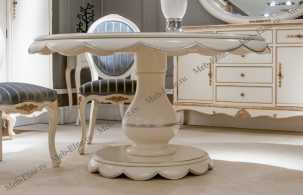 Адалия (Adalia) стол обеденный круглый (144х78)