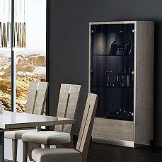 Дафна витрина 2 дверная