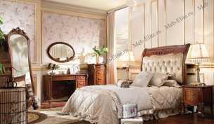 Карпентер 230-1 кровать 120×190 А прямое изголовье, ткань