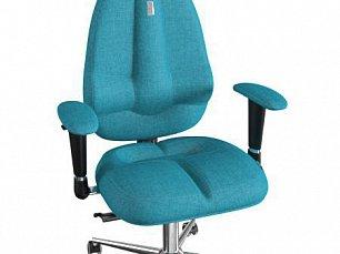 FLY кресло детское рабочее джинс-бирюзовое