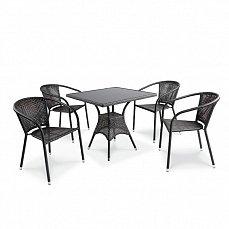 Комплект мебели 4+1 T197BS/ Y137C-W51 иск. ротанг