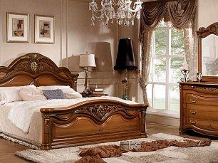 Джоконда  2Д 1 (SL) спальня комплект: кровать 180+тумба прикроватная 2 шт.+комод с/з+шкаф 4 дверный