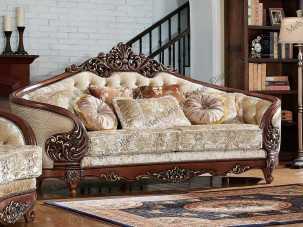 Орфей диван 3 местный ткань