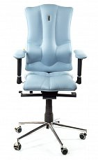 ELEGANCE кресло рабочее светло-синее