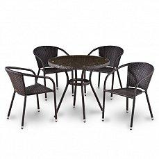 Комплект мебели 4+1 T283ANT/ Y137С-W51-4PCS иск. ротанг