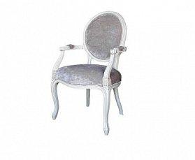 Белая роза стул с подлокотниками DF824 ткань В88