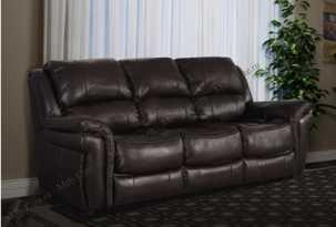 Каспер темный диван-кровать 3 местный