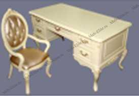 Милано (Фиора) комплект: стол письменный MK-1862-IV + кресло MK-1864-IV