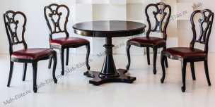 Стелла стол обеденный раскладной круглый 105/141х105 (Кендо)