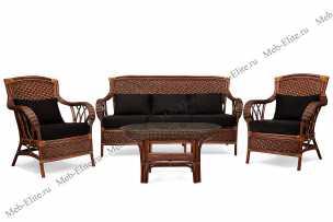 Андреа комплект: диван + столик + 2 кресла