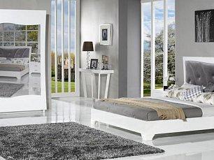 Беллуно спальня белая глянец
