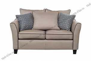 Гарда диван 2 местный с подушками бежевый 28-911-2BG2