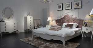 Хемис кровать 160х200 белая