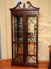 Луи 15 (Louis XV) витрина 2 дверная TH-751-2 орех