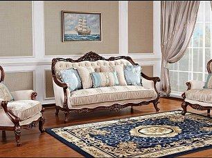 Айвенго 1330 мягкая мебель 3+1+1 ткань
