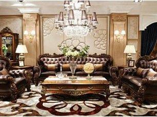Падишах 9018 мягкая мебель комплект: 4+2+1+ журнальный стол