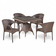 Комплект мебели 4+1 Т220BG/ Y290BG-W1289 иск. ротанг