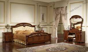 Афина спальня орех