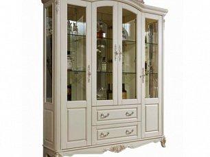 Милано витрина 4 дверная арт. MK-1877-IV