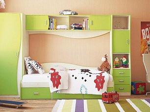 Комби МН-211 спальня комплект: комбинированный шкаф (МН-211-20) + кровать (МН-211-02) + комод (МН-211-24) + стол (МН-211-05)