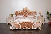 Беатрис спальня комплект: кровать 180х200+2 тумбы прикроватные+стол туалетный с зеркалом+шкаф 6 дверный