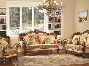 Милорд мягкая мебель 3+1+1 ткань