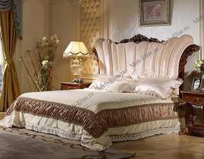 Роял кровать 180х200 орех+золото