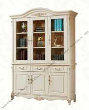Милано (Фиора) шкаф книжный 3 дверный