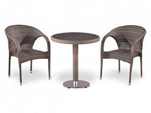 Комплект мебели 2+1 Т501DG/ Y290BG-W1289 иск. ротанг