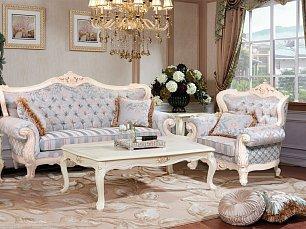 Милано мягкая мебель 3+1+1 ткань узор
