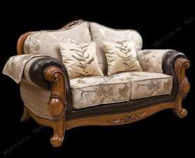 Карпентер 230-1 диван С 2 местный раскладной ( ткань JY5680-3 /JY6118-3/2857кожа/JY6120-3/D10033C-3GF)