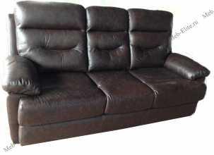 Мик диван 3 местный MK-4703-BRL кожа