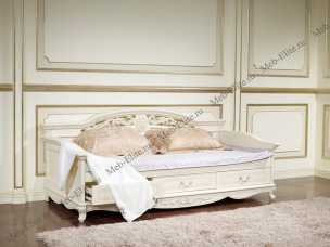 Афина белая диван кровать детская  0.9 m